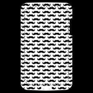 Schnurrbart und moustache Design für Handy Hülle Druck