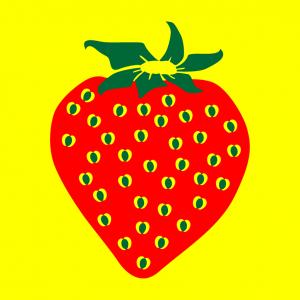 Erdbeere und Früchte Design