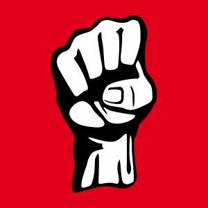 Faust und Revolution Design für T-Shirt Druck