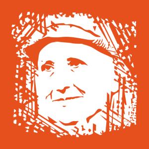 Anpassbares Gertrude Stein Designs für T-Shirt Druck