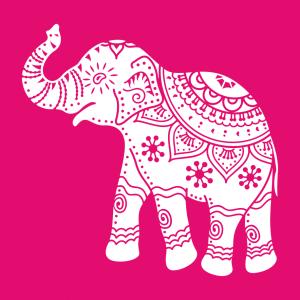 Elefanten T-Shirt zu gestalten. Kunstvoller Elefant Designs für T-Shirt Druck.