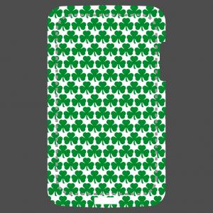 Kleeblatt und Irland Design für Handy Hülle Druck