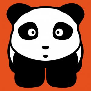 Anpassbares Panda Designs für T-Shirt Druck