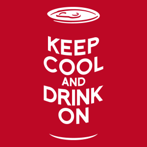 Bier und keep calm Design