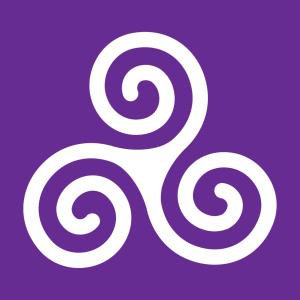 Triskele und Keltisches Symbol Design