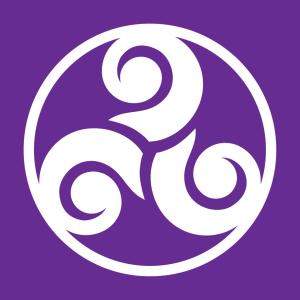 Keltisches Symbol T-Shirt zu gestalten. Symbol Designs für T-Shirt Druck.