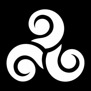 Kelte T-Shirt zu gestalten. Keltisches Symbol Designs für T-Shirt Druck.