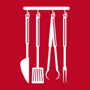 Koch und Kochen Design für Schürze Druck