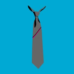 Krawatte Design für T-Shirt Druck
