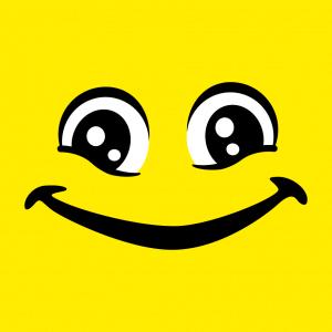 Emoji T-Shirt zu gestalten. Augen Designs für T-Shirt Druck.