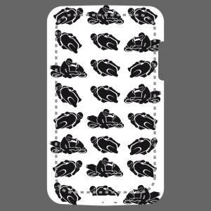 Anpassbares Motorradfahrer Designs für Handy Hülle Druck