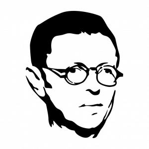 Anpassbares Sartre Designs für T-Shirt Druck