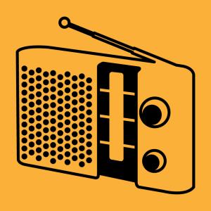 Radio Design für T-Shirt Druck