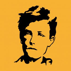 Anpassbares Rimbaud Designs für T-Shirt Druck