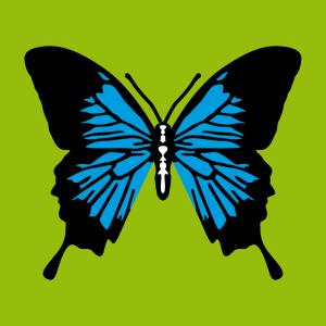 Anpassbares Schmetterling Designs für T-Shirt Druck