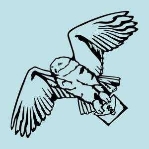 Hedwig T-Shirt zu gestalten. Schnee-Eule Designs für T-Shirt Druck.