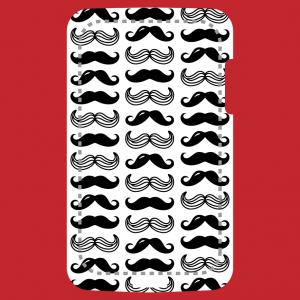 Anpassbares Schnurrbart Designs für Handy Hülle Druck