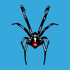 Anpassbares Spinne Designs für T-Shirt Druck