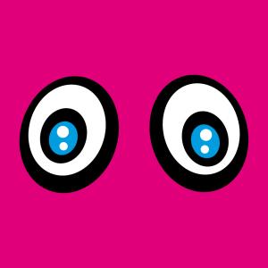 Anpassbares Blau Augen Designs für T-Shirt Druck