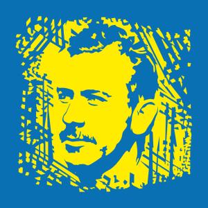 Schriftsteller T-Shirt zu gestalten. Literatur Designs für T-Shirt Druck.