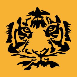 Anpassbares Tiger Designs für T-Shirt Druck