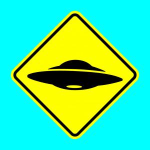Anpassbares UFO Designs für T-Shirt Druck