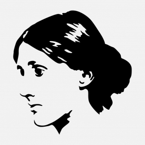 Virginia Woolf Design für T-Shirt Druck