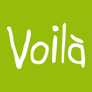 Voilà und Französische Sprüche Design für T-Shirt Druck