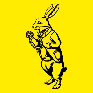 Kaninchen und Literatur Design