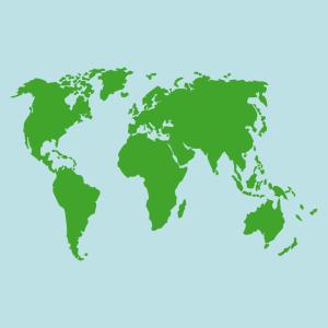 Erde und Weltkarte Design