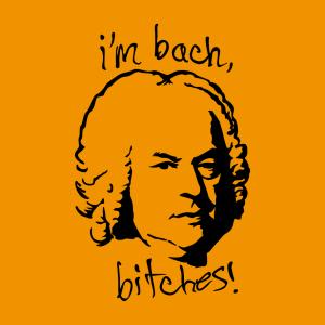 Bach und Witzige Sprüche Design für T-Shirt Druck