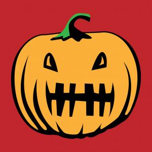 Halloween T-Shirt zu gestalten. Kurbislaterne Designs für T-Shirt Druck.