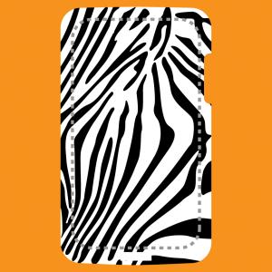 Zebra und Streifen Design
