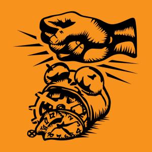 Anpassbares Wecker Designs für T-Shirt Druck