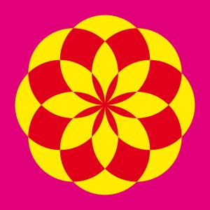 Blumen T-Shirt zu gestalten. Lotusblume Designs für T-Shirt Druck.