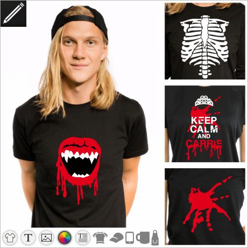 Slasher Designs für T-Shirt Druck