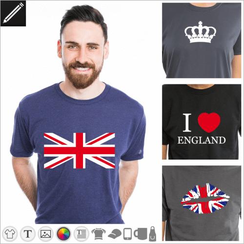 Selbst gestalte dein Vereinigtes Königreich T-Shirt