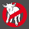 Afraid of no goat T-Shirt. Selbst gestalte ein Geek T-Shirt. Ghostbusters Design.