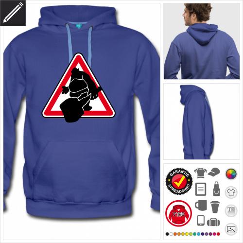 Nerd Sweatshirt online gestalten
