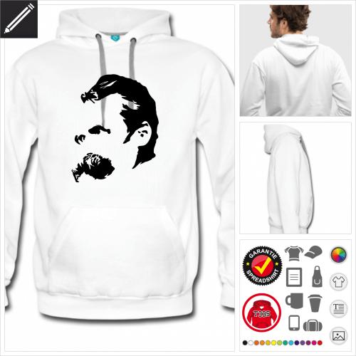 Autor sweatshirt personalisieren