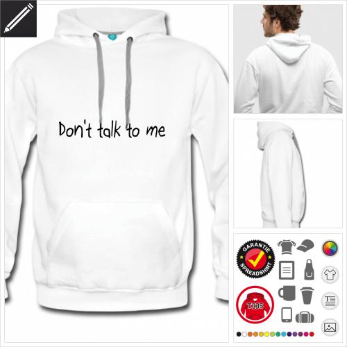 Humor Sweatshirt für Männer zu gestalten
