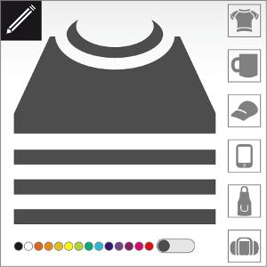 Spreadshirt anbieten eine breite Produktpalette: Männer T-Shirt, Frauen T-Shirt und Kinder Kleidung. Du kannst auch ein Accessoire, eine Tasche, eine Tasse oder ein originelles Geschenk bedrucken.
