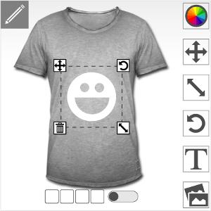 Spreadshirt Designer: wie gestalte ich mein T-Shirt, Schritten.