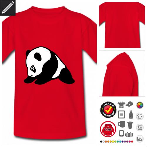 basic Babay-Panda T-Shirt online Druckerei, höhe Qualität