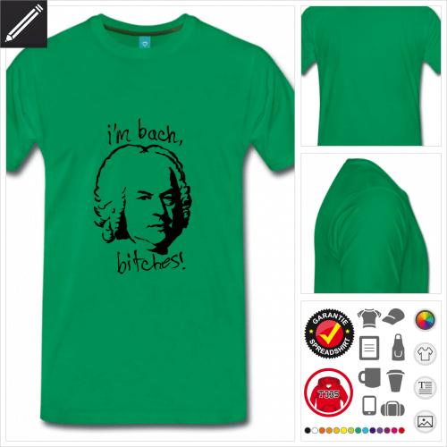basic I'm Bach T-Shirt selbst gestalten