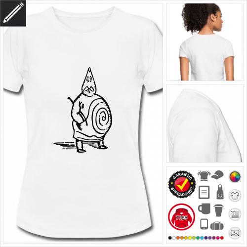 weisses Ubu T-Shirt online gestalten