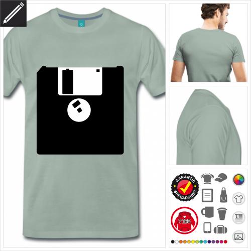 Retrogaming Kurzarmshirt personalisieren
