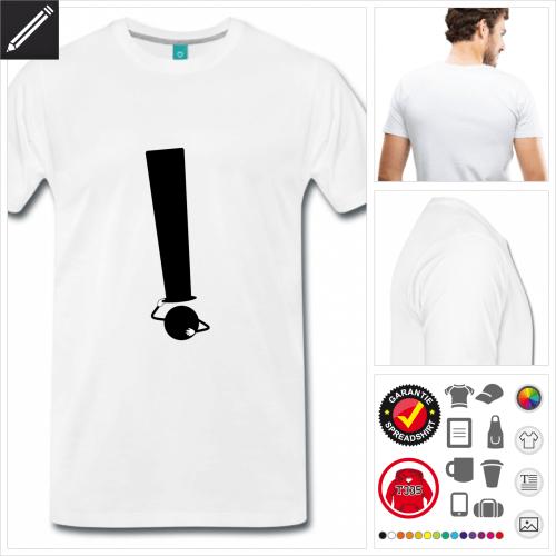 Witz T-Shirt online zu gestalten