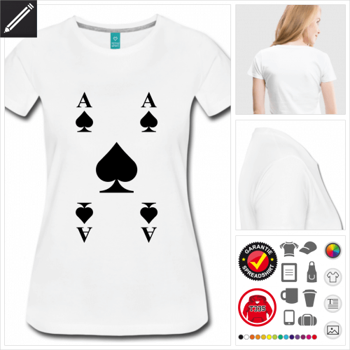 basic Karte T-Shirt online gestalten