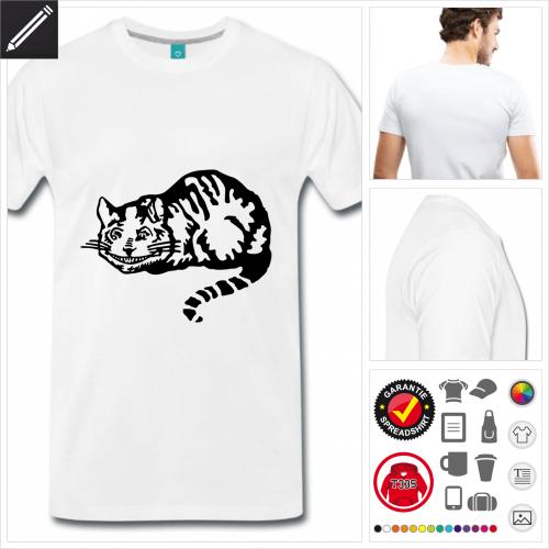 Literatur T-Shirt online Druckerei, höhe Qualität